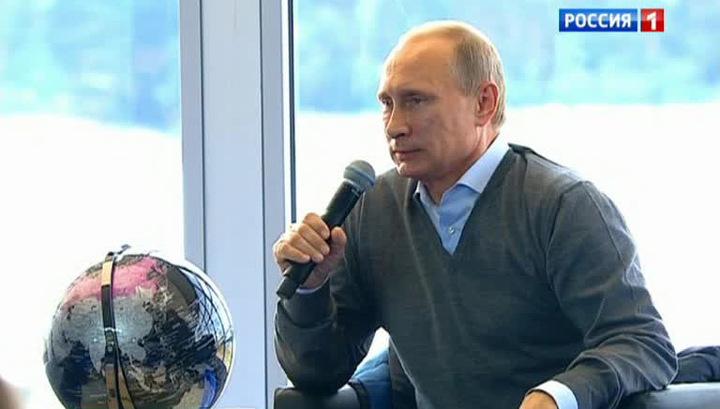 Путин: я могу понять ополчение юго-востока