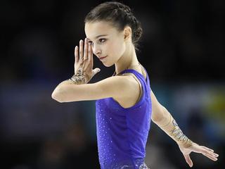 Фигуристка Щербакова с рекордом защитила титул чемпионки России