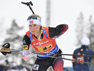 В гонке преследования победила норвежка Экхофф