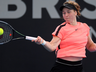 Самсонова вышла в четвертьфинал турнира WTA-250