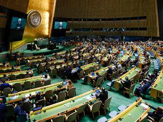 Представителя ФРГ в ООН проводили афоризмом Жванецкого