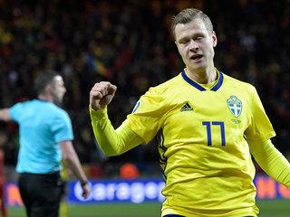 Виктор Классон остался в запасе на игру Швеция  Словакия