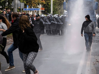 Памятные мероприятия в Варшаве вылились в столкновения с полицией