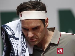 Роджер Федерер снялся с Roland Garros