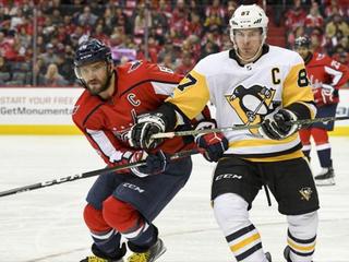 Кросби обошел Овечкина в списке лучших бомбардиров в истории НХЛ