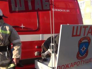 В Петербурге загорелась больница
