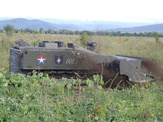 Россия расширит линейку боевых роботов