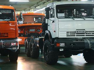 КамАЗ резко увеличил выпуск грузовиков