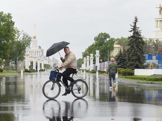 68% месячной нормы осадков: в Москве возможен снег