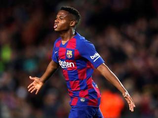 Барселона хочет продлить контракт с Ансу Фати