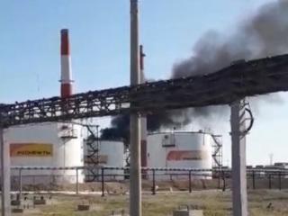 На Сызранском НПЗ ликвидировали крупный пожар на реакторе
