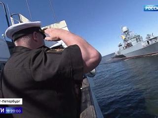 Военно-морской кот и четыре моста: репетиция Главного парада в честь Дня ВМФ