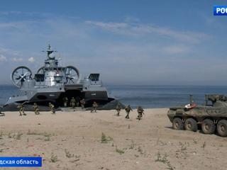 Вести. На Балтике проходят учения, совмещенные с подготовкой к параду в честь Дня ВМФ