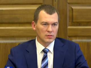 Дегтярёв прогулялся по Хабаровску и провел первые встречи