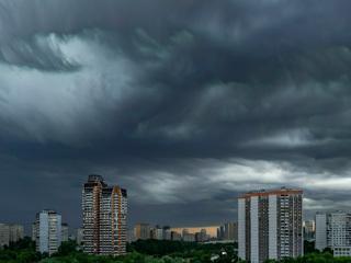 В Москве и Подмосковье ожидается гроза и сильный дождь