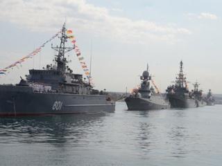 МИД Украины направил в посольство России ноту протеста из-за парада в честь дня ВМФ