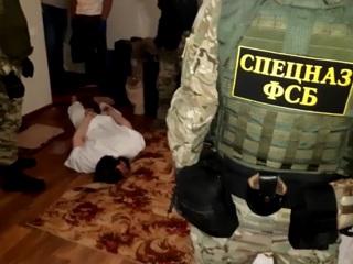 Задержание исламистов в Волгоградской области сняли на видео