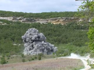 В Керчи обезвредили две бомбы