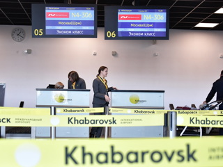 Очередное сообщение о минировании аэропорта Хабаровска оказалось ложным