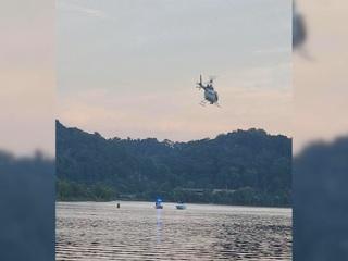 Вертолет рухнул в реку после взлета в Теннесси