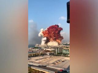 """Новости на """"России 24"""". Очевидец трагедии в Бейруте: взрыв был невероятной силы"""