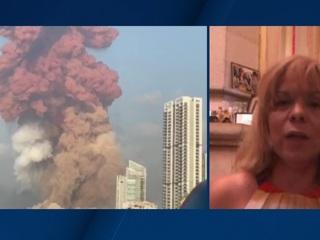 """Новости на """"России 24"""". """"Подумали, что война началась"""": жительница Ливана рассказала о последствиях взрыва в Бейруте"""