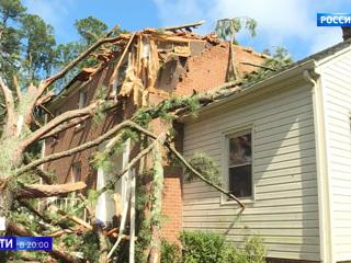 В США подсчитывают убытки от мощнейшего урагана