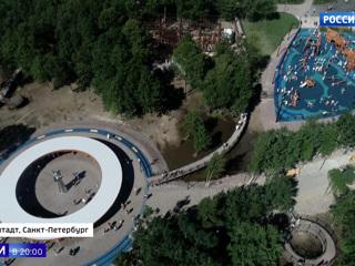 В Кронштадте открылся первый в России парк Военно-морского флота. Вести в 20:00