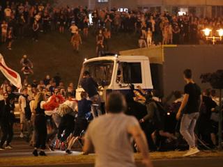 В МВД Белоруссии заявили о контроле над ситуацией в Минске photo