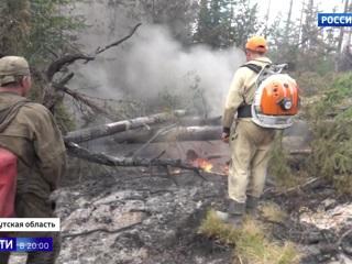 В Прибайкалье ждут дождей: в регионе полыхают сразу 15 природных пожаров. Вести в 20:00