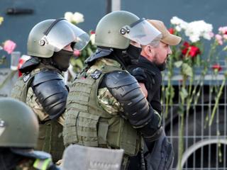 МВД Белоруссии сообщило о задержаниях у Минского тракторного завода