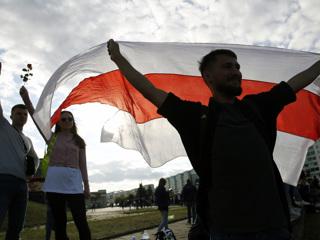 """В белорусской столице снова появились """"цепи солидарности"""""""