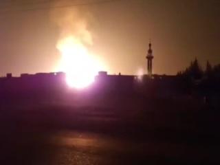 Взрыв газопровода оставил Сирию без электричества