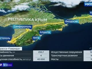 """Трасса """"Таврида"""" сократила расстояния в Крыму"""