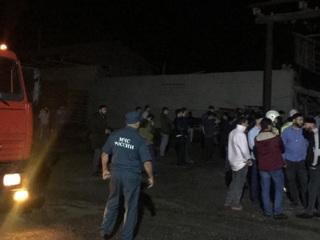 Трое рабочих погибли после взрыва на заводе в Ингушетии