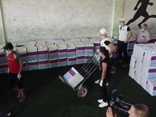 Российские волонтеры привезли гуманитарную помощь жителям Сирии