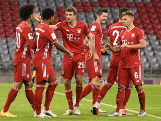Рейтинг клубов УЕФА возглавляет Бавария. Зенит  28-й