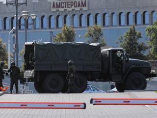 В Минске перекрыли ряд улиц, начались задержания