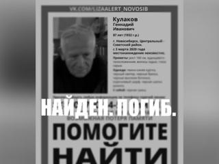 В Новосибирске найдено тело пропавшего полгода назад ученого