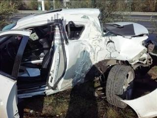 Первый гололед в Красноярске привёл к авариям и пробкам