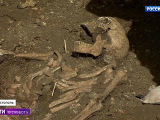 В Севастополе обнаружены останки французских солдат