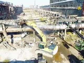 """На промплощадке """"Усольехимпрома"""" демонтируют цех ртутного электролиза"""