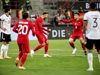Сборная Турции сыграла вничью с Германией перед матчем Лиги наций против России