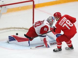 Спартак одержал волевую победу над Локомотивом в КХЛ