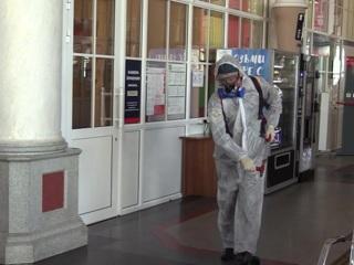 В регионах России возобновляются работы по санобработке общественных мест из-за COVID-19