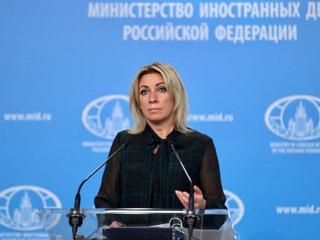 Захарова прокомментировала встречу Лаврова с Пашиняном одним словом