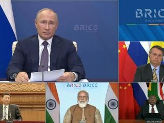 Путин: Банк БРИКС приготовил 10 миллиардов долларов на борьбу с пандемией