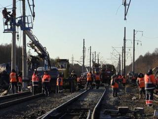 Под Владимиром движение поездов восстановлено после крушения товарняка
