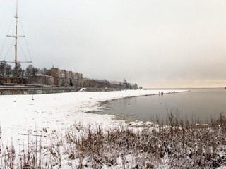На архангельских реках начался процесс ледообразования