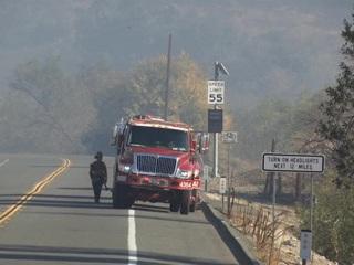 Массовая эвакуация объявлена в штате Калифорния из-за природных пожаров